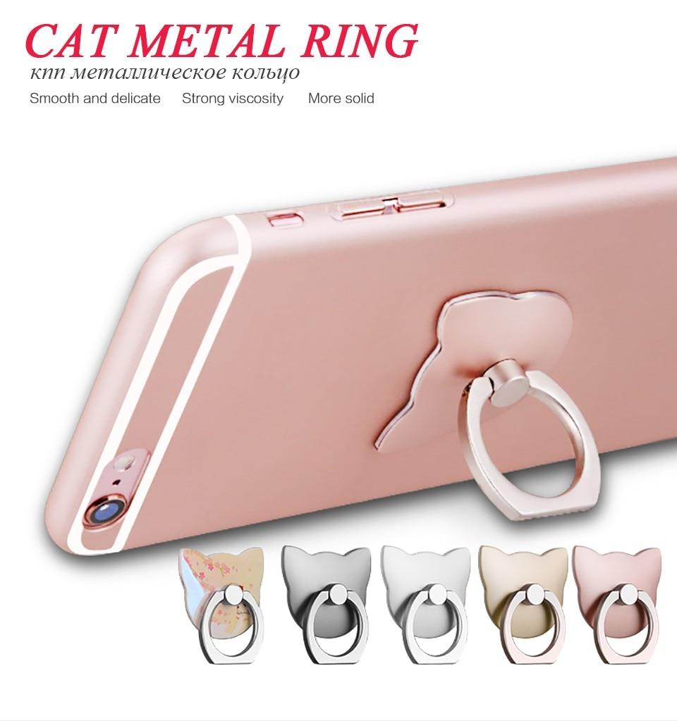 imágenes para Dhl al por mayor 100 unids/lote anillo de dedo de 360 grados teléfono móvil smartphone holder soporte para iphone ipad xiaomi todo caja del teléfono inteligente