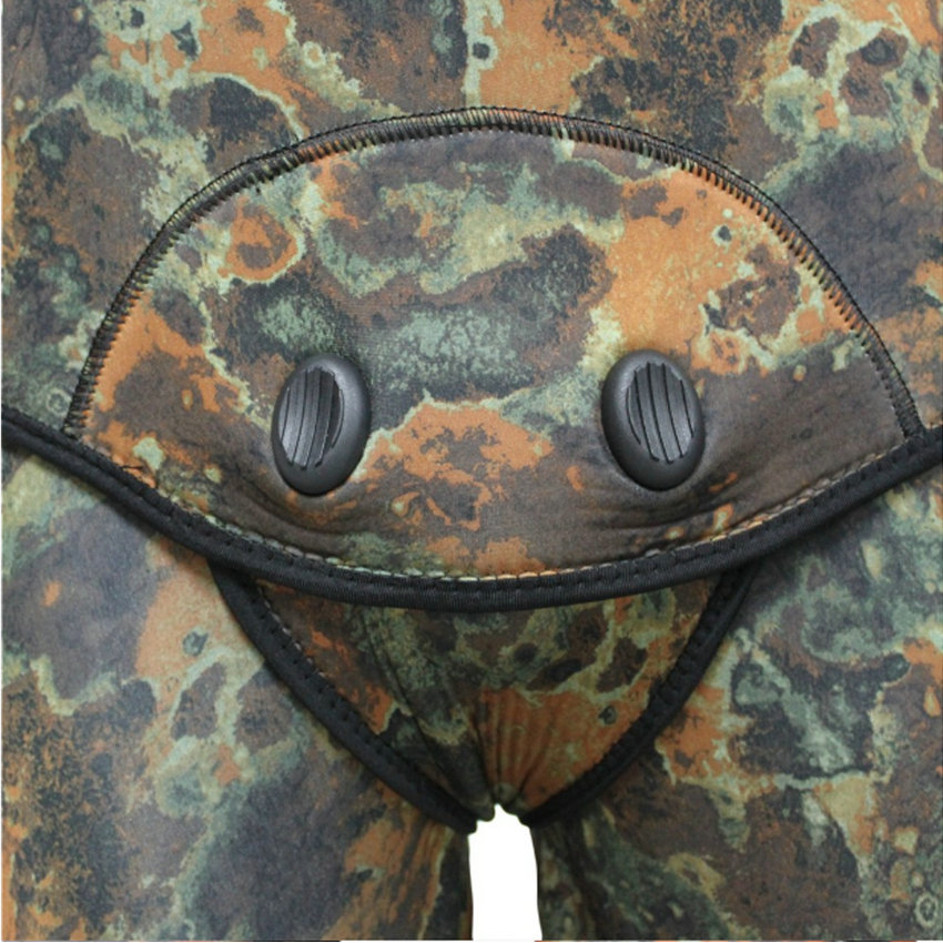 Top quality new 7mm CR neoprene diving suit camo spearfishing wetsuit (5)