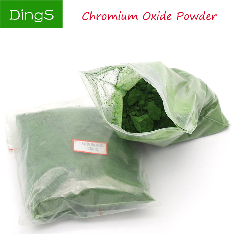 50g 100g 200g 500g Glass Polishing Powder Chromium Oxide Powder Polishing Tools For Jade Crystal Agate Gems Amber Grinding Tool