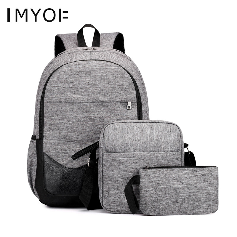 Student School Backpack Set School Bags 3pcs/set For Girls Kids College Pack Shoulder Bags For Teenagers Couple Backpack Mochila