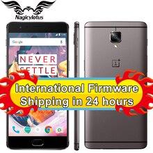 New Original Oneplus 3T one plus 3 T Mobile Phone Snapdragon 821 Quad Core 5.5″ 6GB 64GB Android 7.0 LTE 16MP NFC Fingerprint