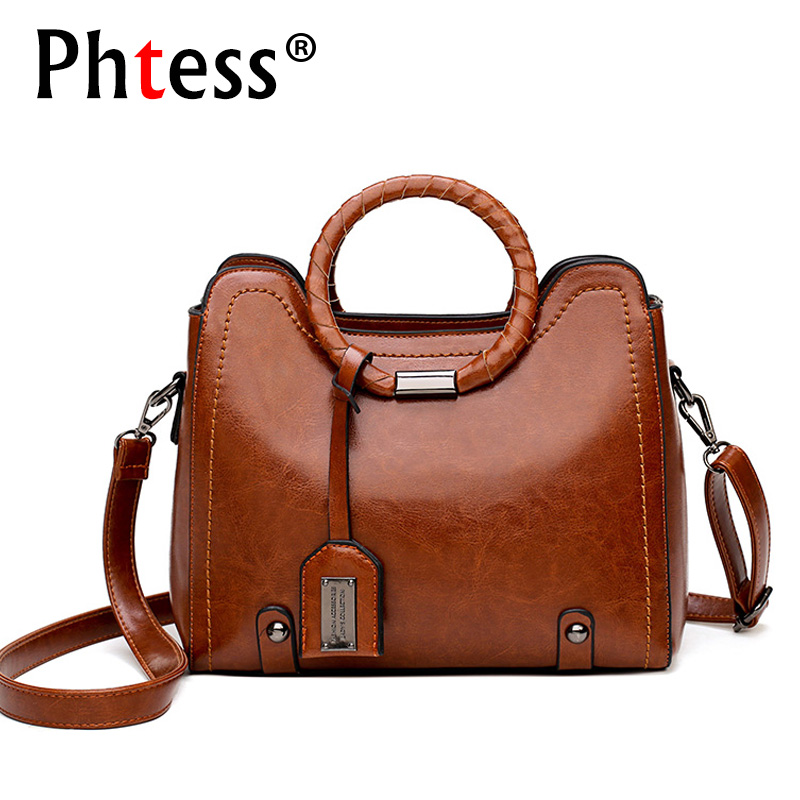 2018 luxury handbags women bags designer brand famous ladies hand bags sac a main vintage tote bags female shoulder bag bolsas luxury handbags fashion tassel satchel bag women bags designer brand famous tote bag female pu leather rivet shoulder bag bolsas