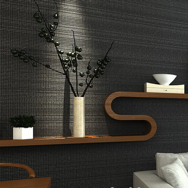 Solid Color Wallpaper for Modern homes Decor Granule Non Woven Wall Paper Roll Grey Wallpaper for Walls TV Background Wallpapers modern wallpaper solid color non woven grey wall paper for living room walls concise nordic europe wallpapers roll wallcovering