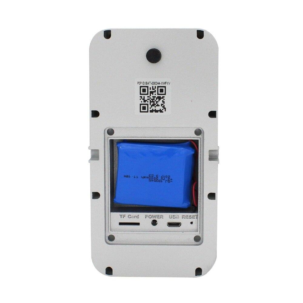 Yobangsecurity Battery Operated Wifi Video Door Phone Doorbell