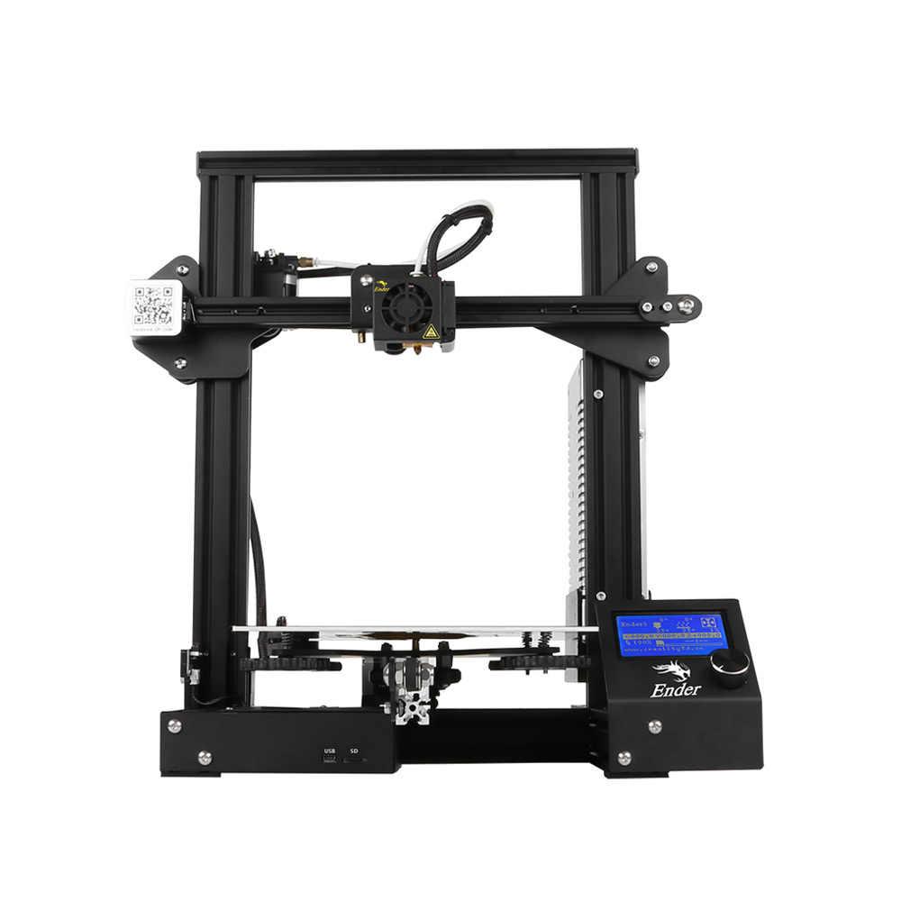 Imprimante 3D Creality 3D nouveau Ender 3/Ender-3 PRO bricolage 3D imprimante Ender-3 auto-assembler 220*220*250mm taille d'impression avec impression de cv