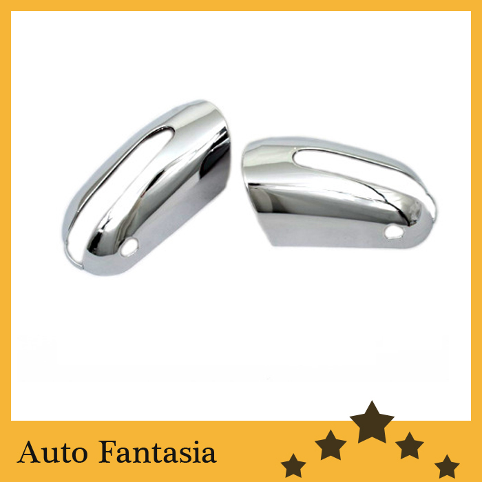 Chrome Side Mirror Cover for Mercedes Benz W220 S Class -Free Shipping