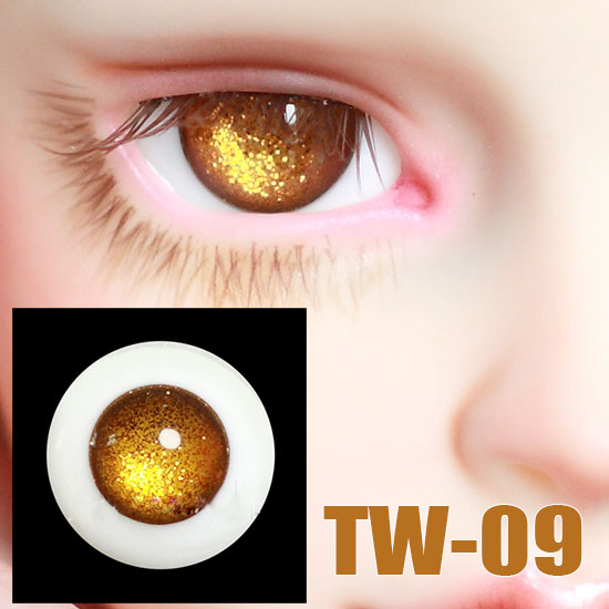 wamami 8mm Yellow /& Yellow Pupil For BJD Doll Dollfie Glass Eyes Outfit