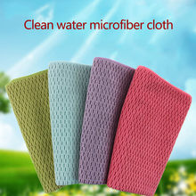 Toalha de cozinha portátil e grossa de microfibra, 1 peça de limpeza, fácil de limpar, toalha portátil, para janelas