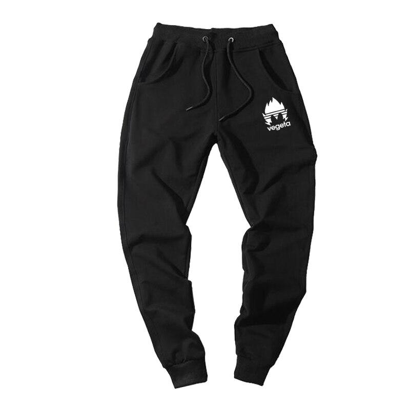 VEGETA Print Fashion Pants For Men Spring Autumn 2019 Soft Joggers Pant Running Clothing Dragon Ball Z Japanese Anime Sweatpants