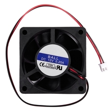 цены 60mm x 25mm DC 12V 0.25A 2Pin Cooling Fan for Computer Case CPU Cooler