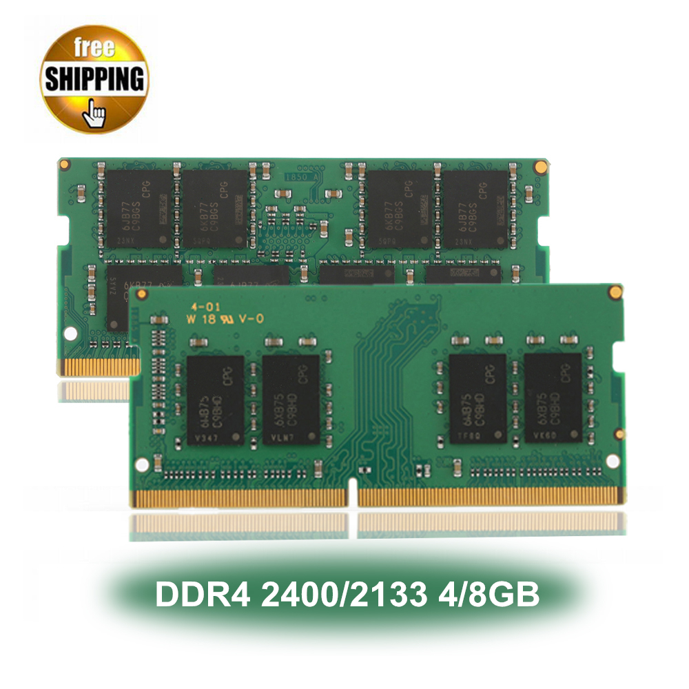 Laptop Sodimm DDR <font><b>4</b></font> <font><b>DDR4</b></font> 2400/<font><b>2133</b></font> MHz <font><b>4</b></font>/8 GB PC4-19200/17000 LC17 1,2 V 260 -PIN Speicher Modul Ram NON-ECC Für Laptop/Notebook image