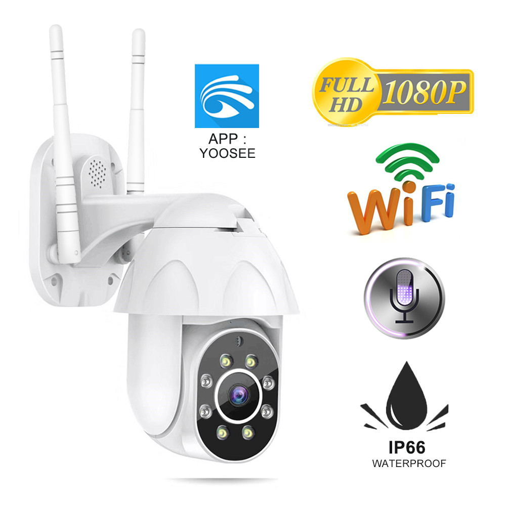ZILNK 2MP Câmera IP Wi-fi Ao Ar Livre 1080P IR H.265 Câmeras Onvif Rede CCTV IP Cam PTZ de Segurança Sem Fio Em Casa vigilância Yoosee