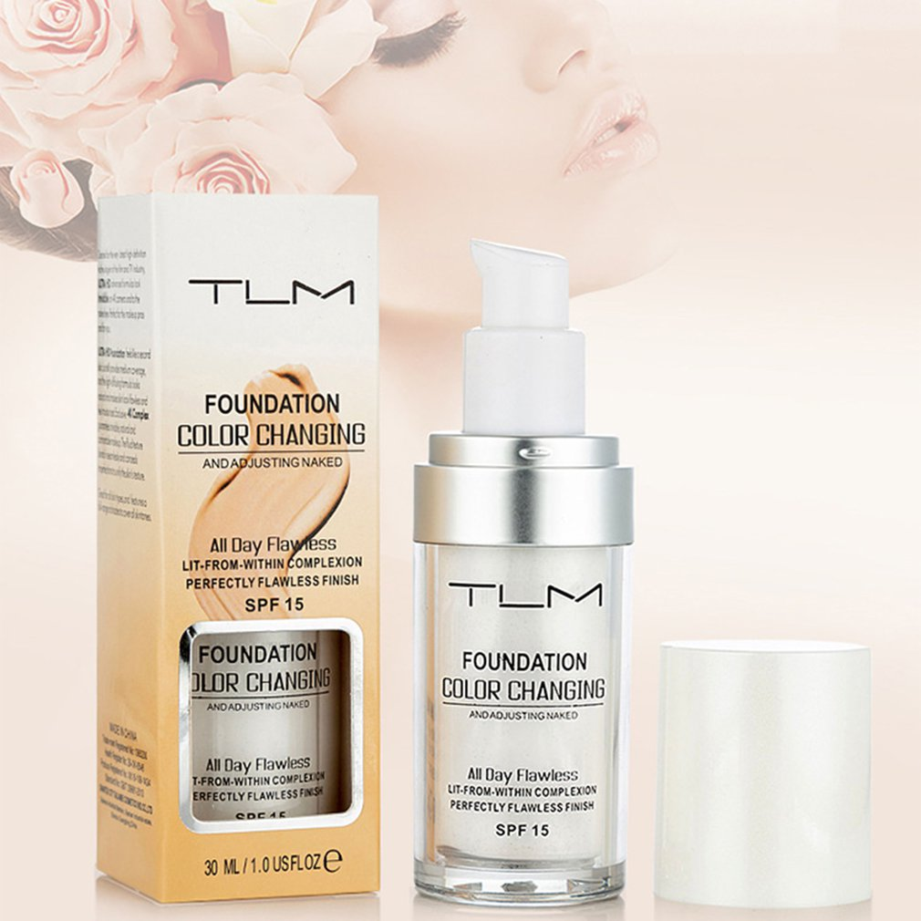 TLM Magic Color Changing Liquid Foundation 30ML Face