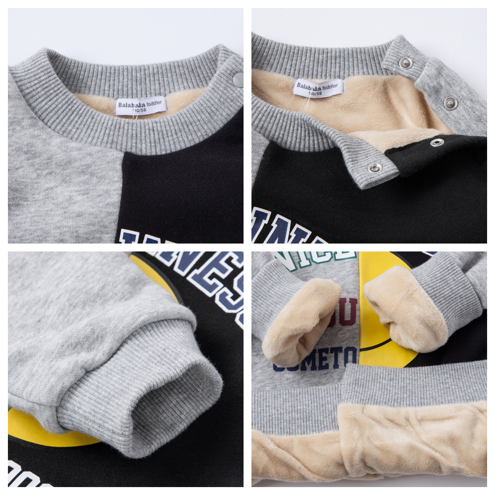bd08619790 balabala Sweatershirts For Children Boys 2018 New Autumn Boys Sports  Clothes Kids Korean Prints Cute Sweaters Casual Pullover-in Hoodies    Sweatshirts from ...