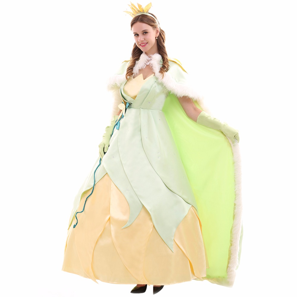 Princess Tiana Dress: Cosplaydiy Custom Made Tiana Princess Dress The Princess
