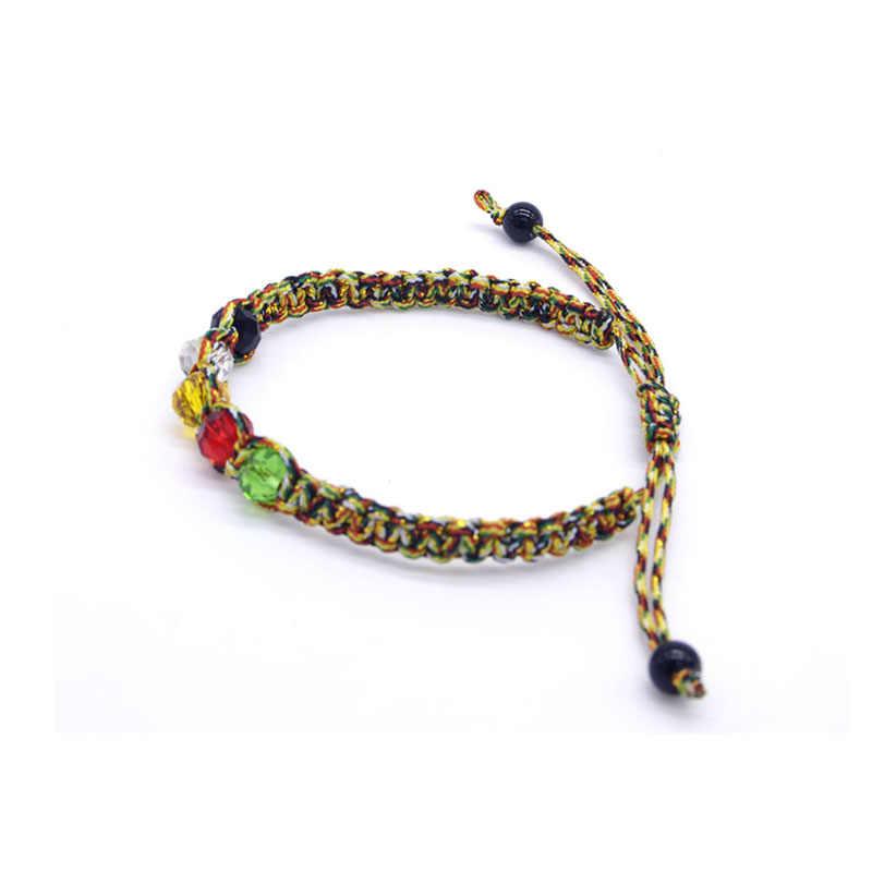 Модный бренд веревки браслет Бохо пляжные ювелирные браслеты из бисера для женщин подарок волна браслет femme