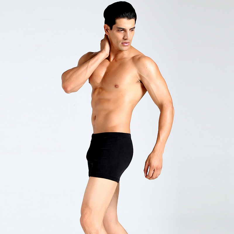High Quality Elastic Waistband Swim Bottom Brief Beach Pants Boys Swimwear Trunks Sexy Beachwear Bathing Trunks Boxers for Men