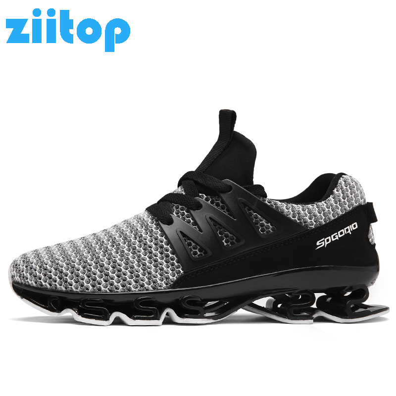 a8f68a0e74c Men Running Shoes Cushioning Outdoor Men Sport Shoes Spring Blade Sneakers