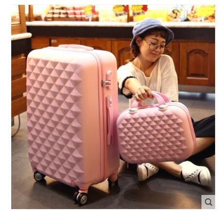 Funda de equipaje enrollable para mujer maleta de viaje maleta con ruedas maleta de equipaje 20 pulgadas 24 pulgadas 26 pulgadas maleta con ruedas-in Bolsas de viaje from Maletas y bolsas    1