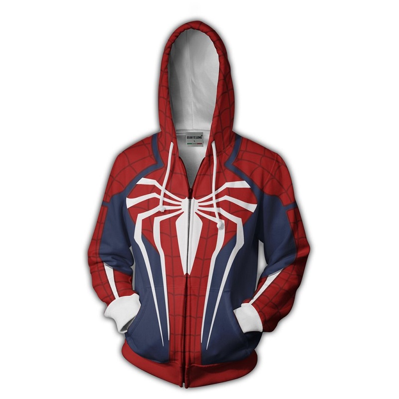 Spider-man Zip Up Hoodie