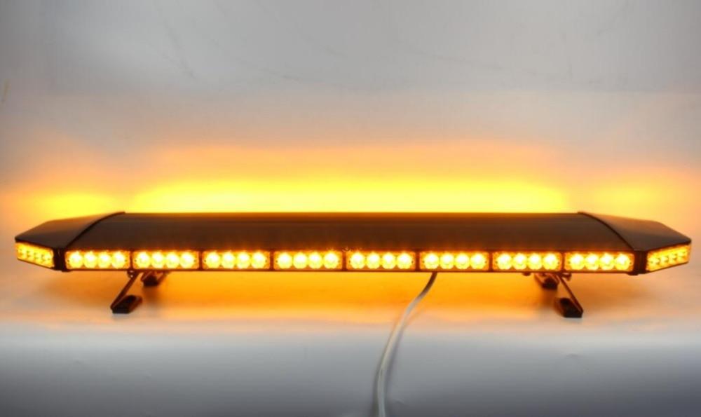 Yüksək ulduz 120cm DC12V 88W amber Led Car xəbərdarlıq lampası, - Avtomobil işıqları - Fotoqrafiya 1