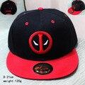 2017 новый Дэдпул хип поп шляпу аниме красный черный крышка хлопка девочек мальчик бейсбол шляпы CA270