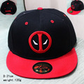 2017 new Deadpool hip pop hat anime red black cap cotton girls boy baseball hat CA270