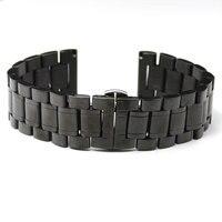 18mm Black High Quality Beautiful Wearing Mechanical Quartz Wrist Watch Band Strap Bracelet Decoration GD013718
