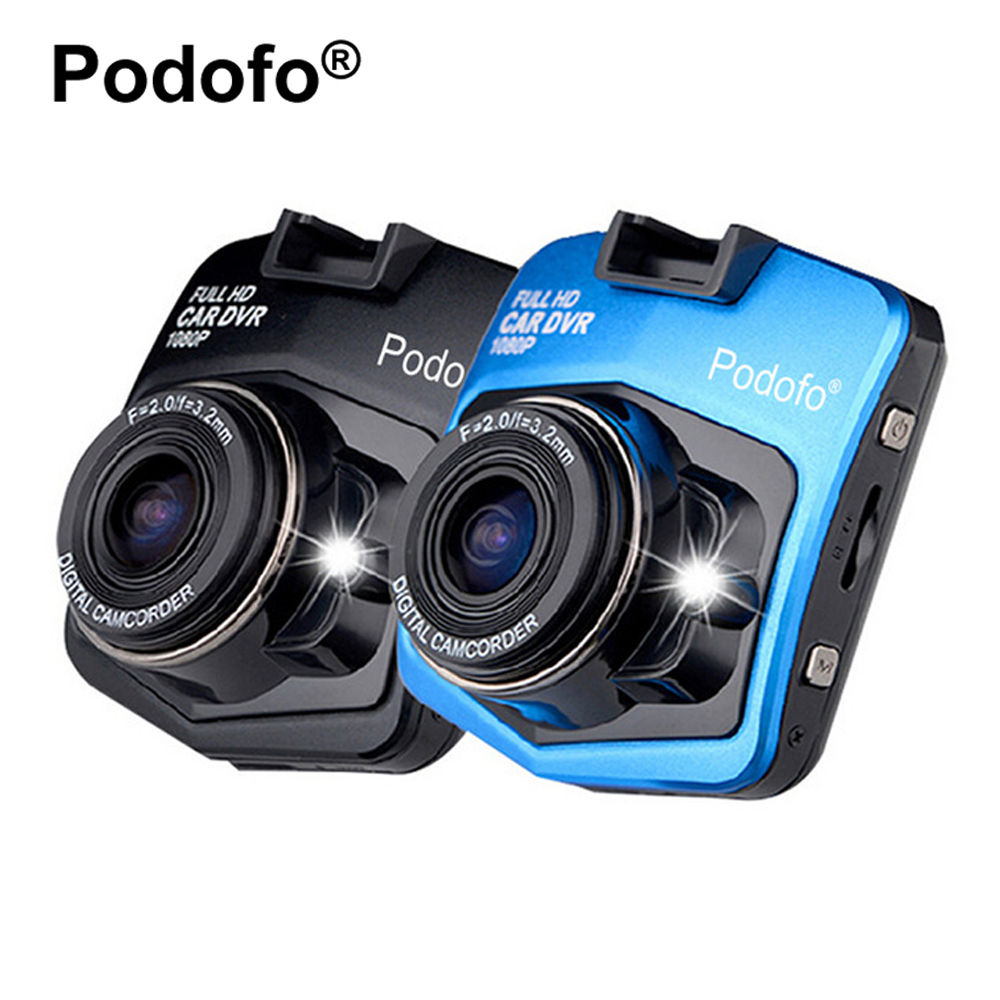 Original Podofo A1 Mini Car DVRs Camera Dash Cam Full HD 1080P Recorder Video Registrar Night Vision Blackbox Carcam Dash Camera 12v night vision mini hd 1080p wifi car video recorder camera dash cam hd