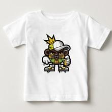 Rock T Shirt Children 3T-8T Fashion cotton Tee Shirt boy/girl Short Sleeve O-neck T-shirts summer tops t-shirt baby shirts  NN стоимость