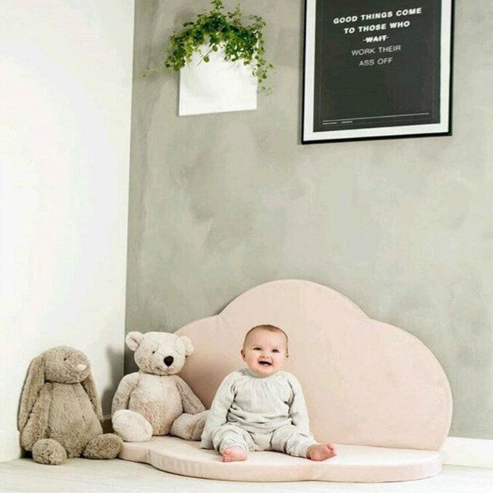 Bébé gym playmate bébé tapis de jeu nuage tapis jeu ramper couverture tapis pour enfants tapis de jeu pliable rond enfant chambre décor