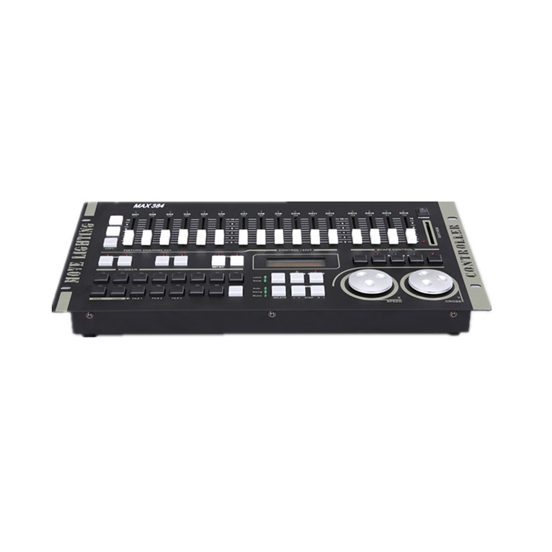 DMX Max 384 moving light controller computer lighting console can control 30pcs stage lights equipment buit in shape program