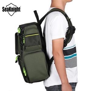 Image 5 - SeaKnight SK004 Outdoor Fishing Tackle Bag  Large Capacity 25L Multifunctional 41*44*20cm  Fishing Backpack 1000D Nylon