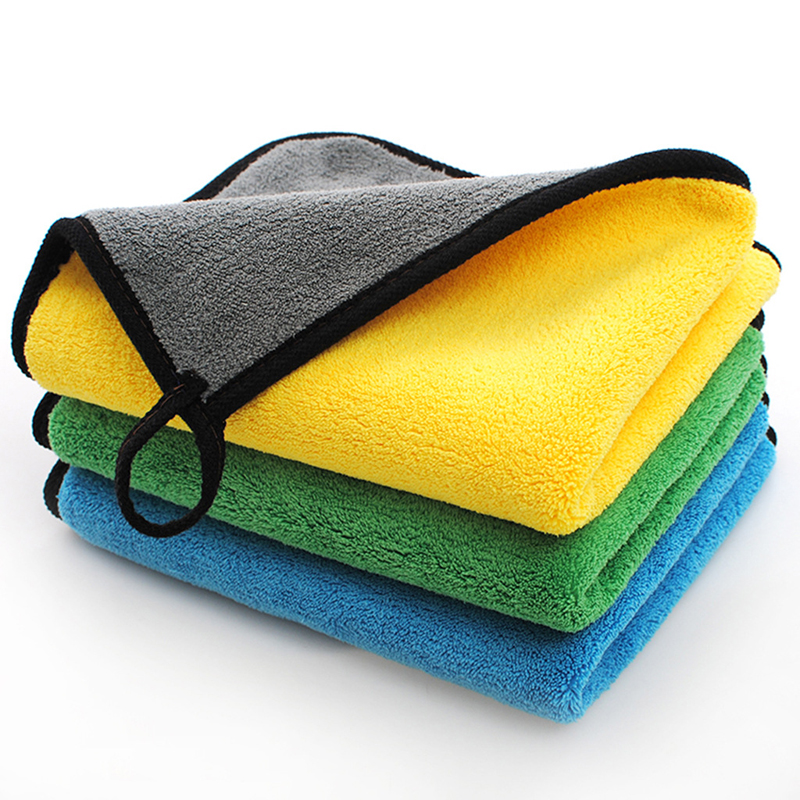 30*30cm Car Wash Care Polishing Drying Washing Microfiber Towel Kitchen Superfine Fibre Cleaning Duster Cloth