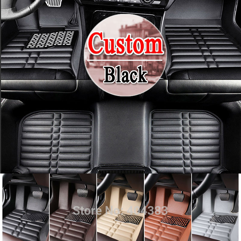free shipping floor case car floor mats for Volkswagen santana3000/2000 CC touran polo 3D car-styling carpet floor liner custom fit car floor mats for mitsubishi lancer asx pajero sport v93 3d car styling all weather carpet floor liner ry204