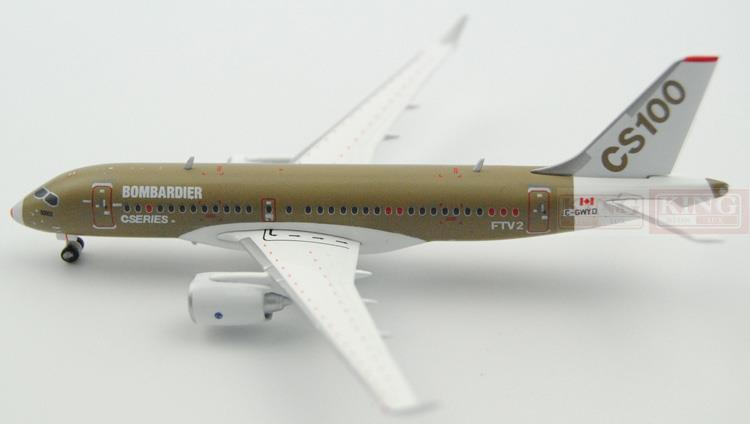 Special offer: JC Wings CS100 FTV2 1:400 Bombardier commercial jetliners plane model hobby