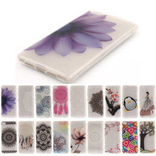 Floral Phone Case For Lenovo VIBE P1M P1 S90T A319 K3 K5 Note A2010 S850 A328 A6000 A7000 Lace Flower Soft Bag(China)