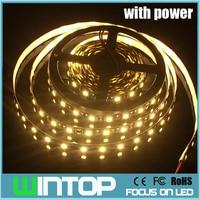 WINTOP Black PCB 5M 300LEDs SMD5050 LED Strip Light Set Non Waterproof RGB Single Color 44Key