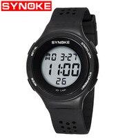 Digital Wristwatches Timer Kids Watches Alarm Chrono Boy Girl Clock 50M Waterproof Sport Children Watch Gray