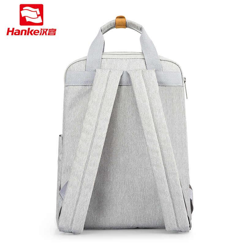 Hanke Man женский рюкзак для ноутбука Сумка водонепроницаемая Подростковая школьная сумка для мальчиков Студенческая сумка школьная сумка 2019 новый дизайн