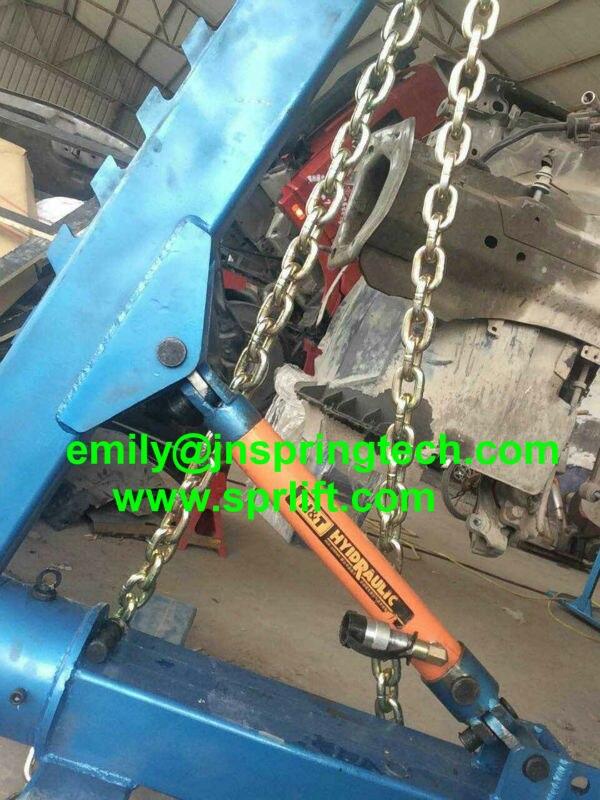 Tragbare auto rahmen maschine tragbare karosserie reparatur von ...