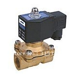 ФОТО Free Shipping 5PCS 3/4'' DC 24V 2 Way Female Thread Water Flush Solenoid Valve DIN Connector