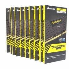 コルセア復讐 LPX 8 ギガバイト 8 グラム DDR4 PC4 2400Mhz 3000Mhz 3200Mhz のモジュール 2666Mhz 3000 PC コンピュータデスクトップ ram メモリ 16 ギガバイト 32 ギガバイト DIMM