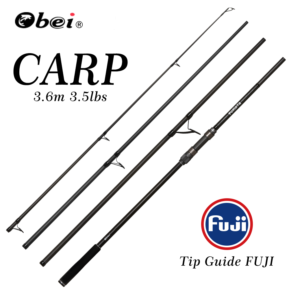 obei carp fishing rod Portable spinning rod 3 60m 4 25lb 40 160g 4sections