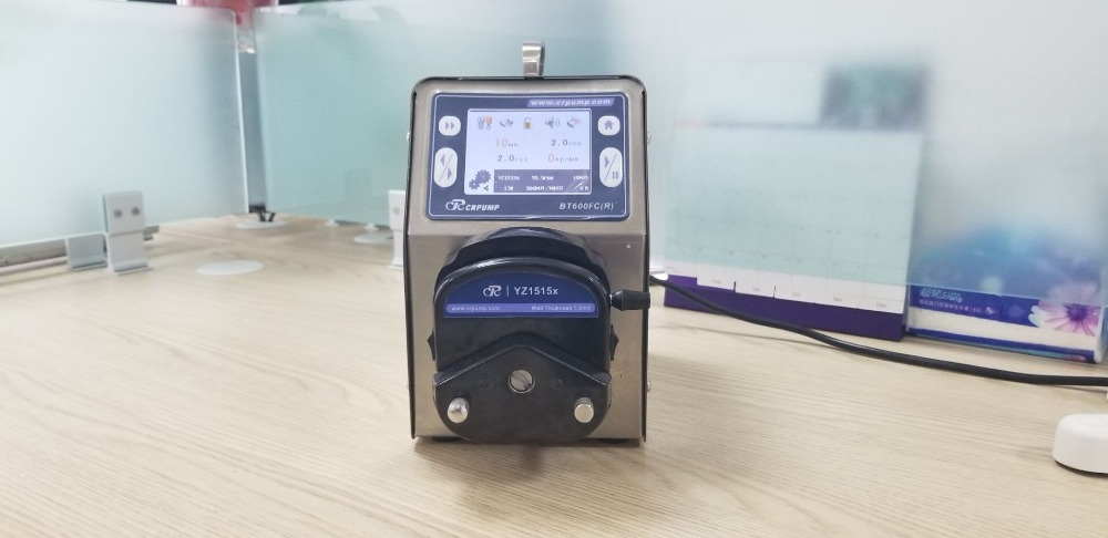 RUSSIAN VERSION Peristaltic filling pump recommended from CRPUMP