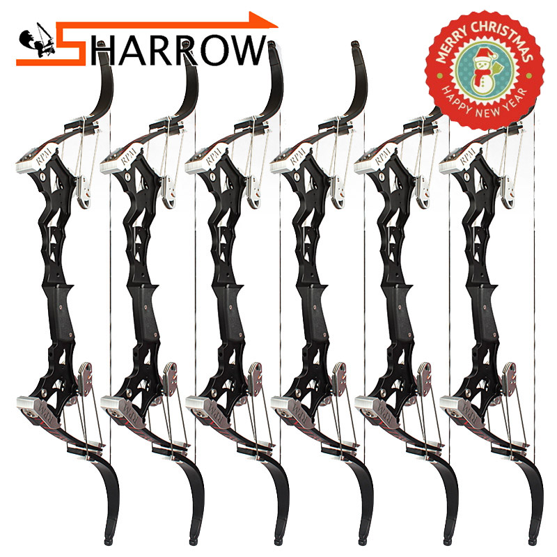 1 Set 30-55lbs Archery America NITRO Hunting Fishing Compound Bow American Gordon Import + Laminated Bow Limbs Shooting Sports