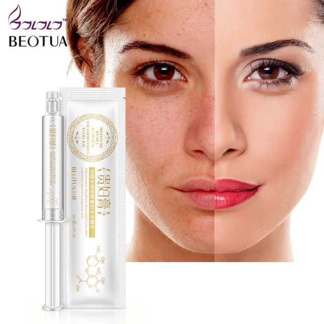Anti-Wrinkle Anti Aging Hyaluronic Acid+Collagen Injection Face Serum Liquid Tights Facail Essence Moisturizing Whitening