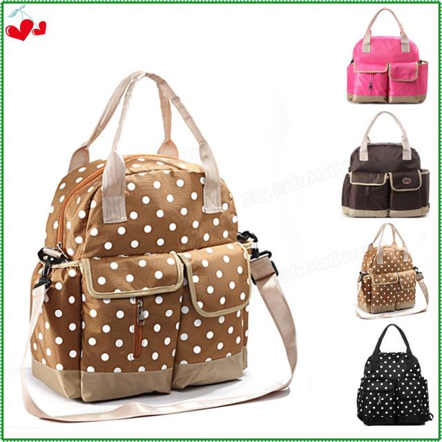 3 en 1 Unidades maternidad mochila + botella + Portable pañales cambiador, gran capacidad del bolso del panal para la mamá, mujer moda