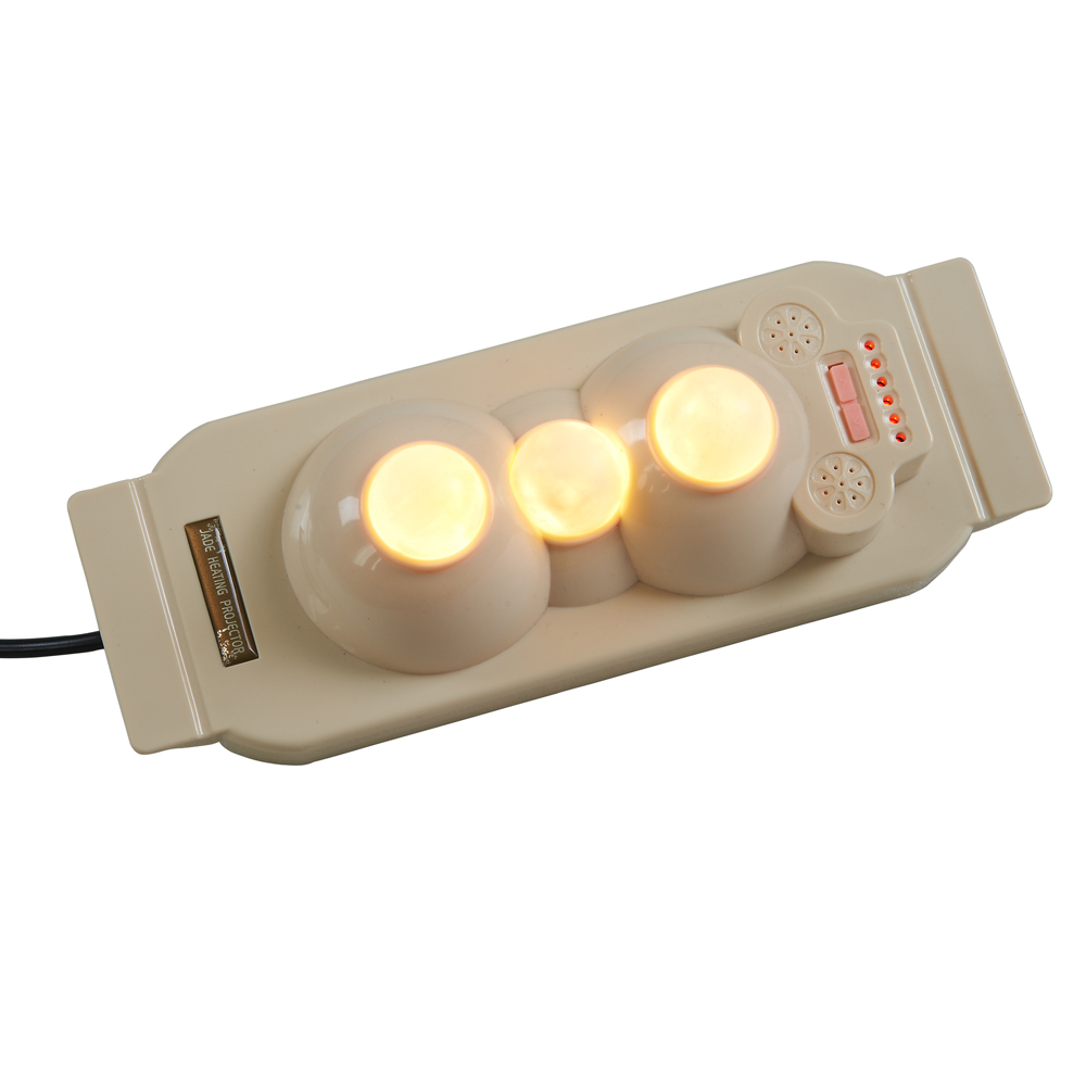 3 Natural Jade balls Protable jade heating projector massage POP RELAX PR-P03 Far Infrared Heating therapy relaxant massage