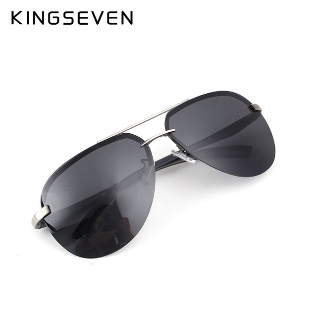 KINGSEVEN 2017 Upgrade Quality Men's Sunglasses Women Polarized Driving Mirror Sun Glasses UV400 oculos de sol for Men 2